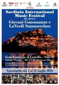 SARDINIA INTERNATIONAL MUSIC FESTIVAL - III EDIZIONE