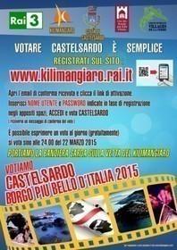VOTIAMO CASTELSARDO BORGO PIU' BELLO D'ITALIA 2015 - Portiamo la bandiera sarda sulla vetta del Kilimangiaro